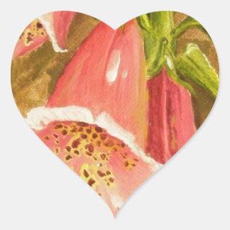 Foxy Foxglove of Williamsburg.JPG Heart Sticker