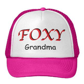 Foxy Grandma Hat