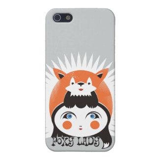 Foxy, iPhone 5/5S Matte Finish Case iPhone 5 Case