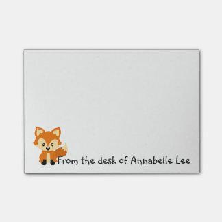 Foxy Little Friend Post-it® Notes