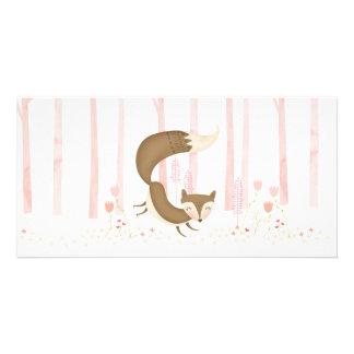 Foxy Love Photo card