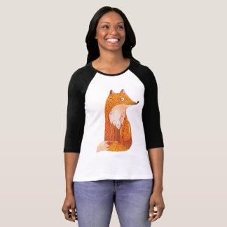 Foxy Sleeve Raglan T-Shirt