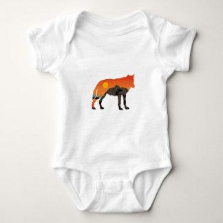 Foxy Sunset Baby Bodysuit