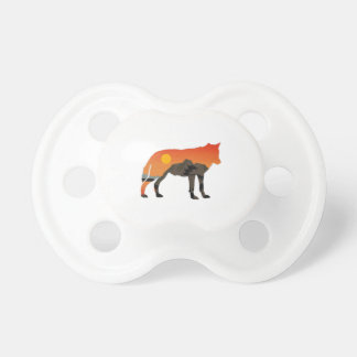 Foxy Sunset Baby Pacifiers