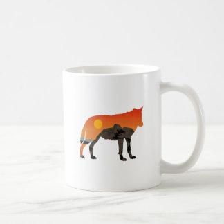 Foxy Sunset Coffee Mug