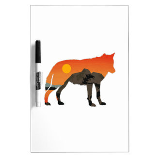 Foxy Sunset Dry Erase Board