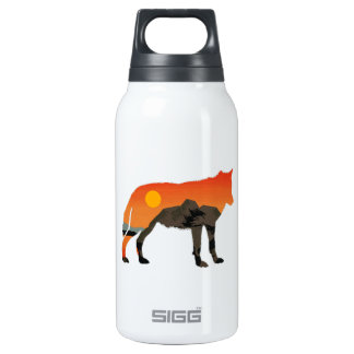 Foxy Sunset Insulated Water Bottle