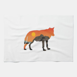 Foxy Sunset Kitchen Towel