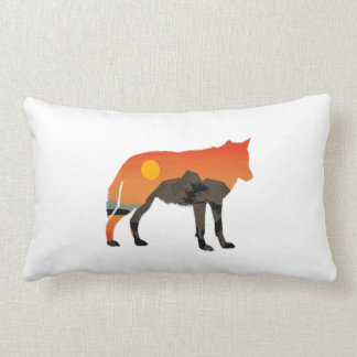 Foxy Sunset Lumbar Pillow