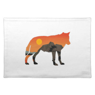 Foxy Sunset Placemat
