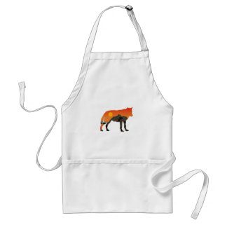 Foxy Sunset Standard Apron