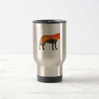 Foxy Sunset Travel Mug