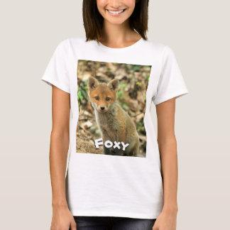 Foxy t-shirt, Fox tee, wildlife clothing T-Shirt
