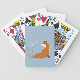 Foxy Takes The Pose Bicycle Playing Cards