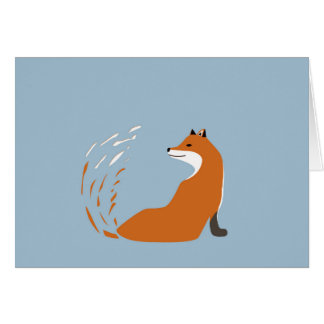 Foxy Takes The Pose Card