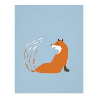 Foxy Takes The Pose Letterhead