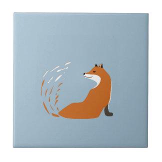 Foxy Takes The Pose Tile