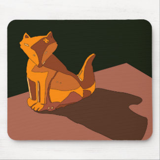 Foxy Vector (Change color in customize!) Mouse Pad