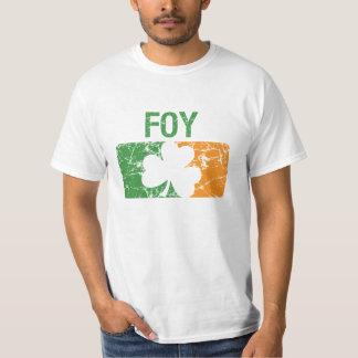 Foy Surname Clover T-Shirt
