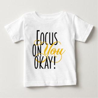 FOYO-text-TEE-yello-final Baby T-Shirt