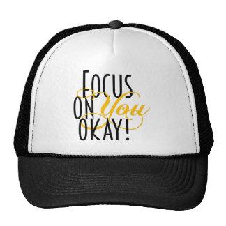 FOYO-text-TEE-yello-final Trucker Hat