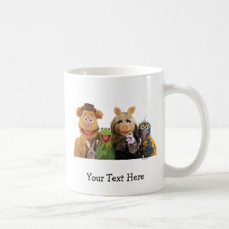 Fozzie, Kermit, Miss Piggy, and Gonzo Coffee Mug