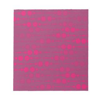 FPD Berry Circle Patt Notepad
