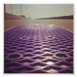 FPS Penny Board. Poster