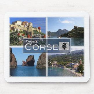 FR France - Corse - Corsica. Calvi - Osani - Mouse Pad