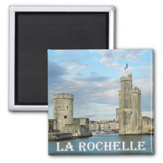 FR - France - French Riviera - La Rochelle Magnet