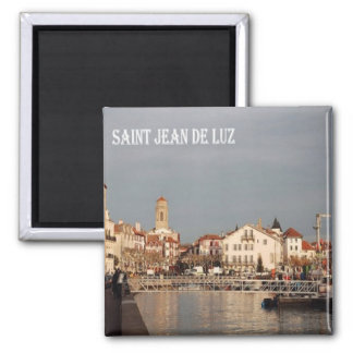 FR - France - French Riviera - Saint-Jean-de-Luz Magnet