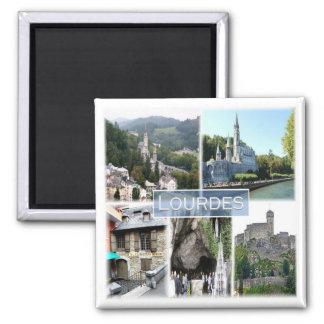FR * France - Lourdes Magnet