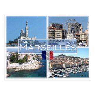 FR France - Marseilles - Postcard