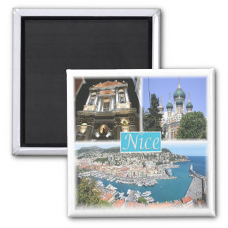 FR * France - Nice Provence Square Magnet