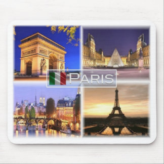 FR France - Paris By Night - Arc de Triomphe Mouse Pad