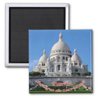 FR - France Paris Sacred Heart Basilica Montmartre Magnet