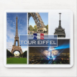 FR France - Paris - The Eiffel Tower - Mouse Pad