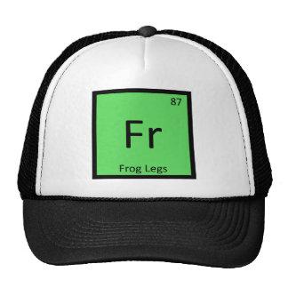 Fr - Frog Legs Chemistry Periodic Table Symbol Trucker Hat