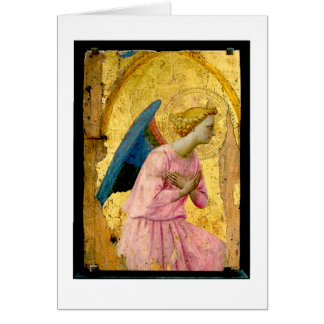 Fra Angelico Angel Christmas Greeting Card