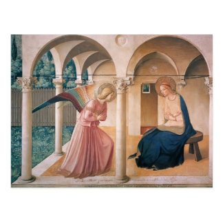 Fra Angelico- Annunciation Postcard