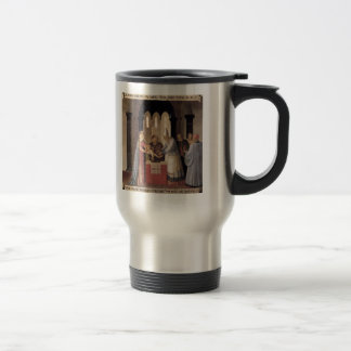 Fra Angelico- Circumcision Stainless Steel Travel Mug