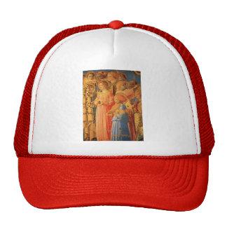 Fra Angelico- Coronation of the Virgin (detail) Trucker Hat