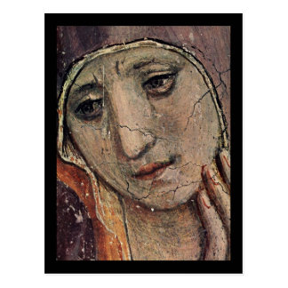 Fra Angelico Face of Mary Postcard
