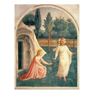Fra Angelico- Noli Me Tangere Postcard