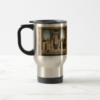 Fra Angelico- San Domenico Altarpiece Travel Mug