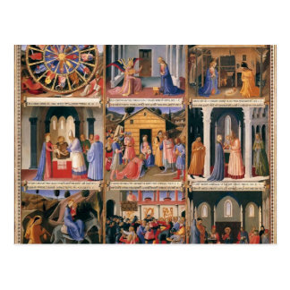 Fra Angelico- Scenes from the Life of Christ Postcard