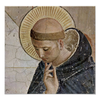 Fra Angelico - St Dominic Poster