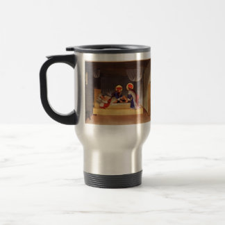 Fra Angelico- The Healing of Justinian Travel Mug