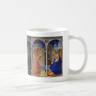 """Fra Angelico, """"The Virgin of the Annunciation"""" Coffee Mug"""