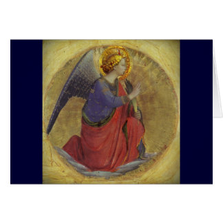 Fra Angelico's Angel of Annunciation Card